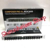 BEHRINGER COMPOSER PRO XL MDX 2600 Original Diskon