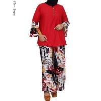 Baju Setelan Wanita Atasan + Celana Celana Kulot Panjang