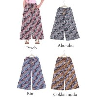 Celana Kulot Anak Motif Batik Celana Panjang Anak Perempuan