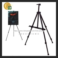TRIPOD STAND FRAME camera POSTER FOTO STAND BANNER LUKIS Easel Murah