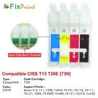 CISS Epson IMPORT T13 T11 T20E T40W TX101 TX110 TX111 TX121 T200 TX300F TX400 TX121 TX210 TX220