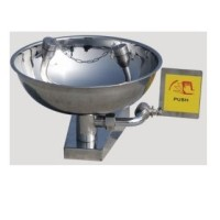 Emergency Portable EYE WASH STAINLESS STEEL WALL MOUNTED