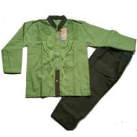 LIMITED EDITION Baju Koko Anak Warna Hijau Umur 4-6 Tahun LARIS