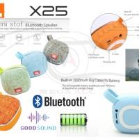 BARU 2018 JBL Mini Bluetooth Speakers Portable Oudoor X25 With FM