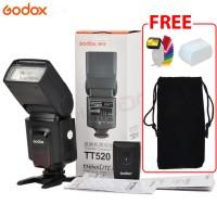 Godox Flash TT520 II - Include Flash Trigger Wireless Canon - Nikon