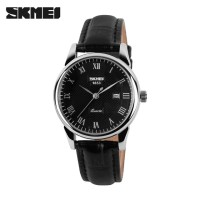 Jam Tangan Wanita Clasic SKMEI 9058 Original Anti Air - Hitam Hitam