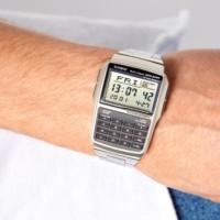 Jam Tangan Casio Databank Calculator DBC-32-D Original Rantai Digital