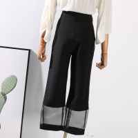celana panjang hitam model zara uniqlo pull & bear trousers jegging