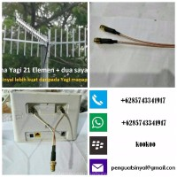 Antena Penguat Sinyal Yagi 21el Huawei Bolt Router XL Home B310S B310