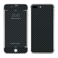 Garskin HP Apple Iphone 8 Plus Motif Black carbon - motif bisa request