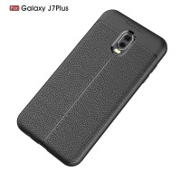 LEATHER AUTO FOCUS Samsung J7 Prime - J7 Plus 2017 case cover casing