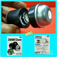 Microskop Lensa Zoom 30x Untuk Melihat Benda2 Kecil Dengan Kamera HP