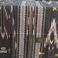 Sarung tenun sutra KAMER SUPER 420 sklas tamer bhs sgf sge raja mulia