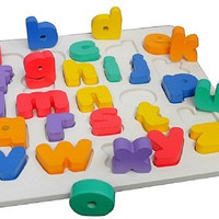 Puzzle Kayu Chungky Alphabet Kecil