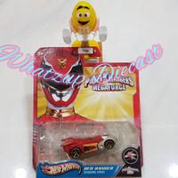 Hot Wheels Dragon Zord Red Ranger (Power Rangers Megaforce)