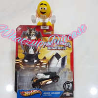 Hot Wheels Lion Zord Robo Knight (Power Rangers Megaforce)