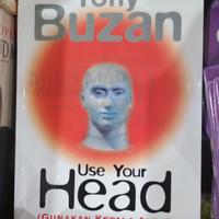 """use your head """"buku tony buzan"""""""