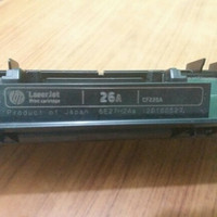 Laserjet 26a bekas belom pernah di reffil<br/><br/>SERIES PRINTER TONER HP 26A
