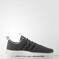 Original Sepatu Adidas Neo Cloudfoam Swift Racer Shoes Grey Five Core