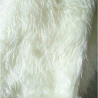 karpet kain bulu putih korea 50x65cm