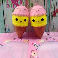 Squishy Murah Medium Ice Cream Sunny Squishy