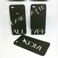 case matte full hitam untuk semua tipe hp xiaomi all tipe xiaomi