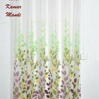 Curtain Shower Teratai Daun/ Tirai Kamar Mandi Lucu/ Shower Curtain