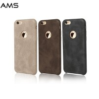 Leather Soft Case iPhone 5 5s SE Hard Casing HP Kulit USAMS Premium 3D