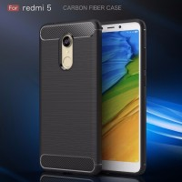 Xiaomi Redmi 5 - 5 Plus spigen like case casing hp carbon FIBER LINE