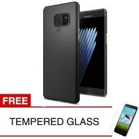 Case for Samsung Galaxy Note FE/Fan Edition -Slim Black Matte Hardcase