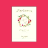 Buku Misa Pernikahan / Sakramen / Pemberkatan Nikah