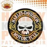 Jaket Bordir Emblem Patch Sweater Hoodie Jumper Harley Chopper 17