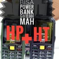 Prince PC 10 PC10 PC 10 HP bisa HT Powerbank 12 000 mAH ALDO 007 BRA
