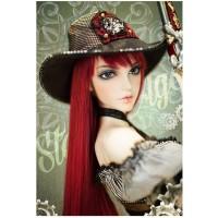1/3 BJD Doll Fairyland Feeple65 Angela White Skin (Free Make Up + Free