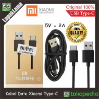 TYPE C ! Kabel Data Original 100% Xiaomi USB TYPE-C Cable Data Charger