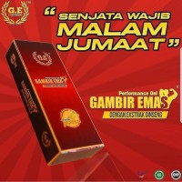 GAMBIR EMAS Performance Gel Obatkuat No.1 di Malaysia