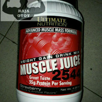 MUSCLE JUICE 5 Lbs / 4.96 Lbs ULTIMATE NUTRITION Suplemen Mass Gainer