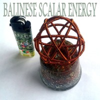 TB VORTEX COIL ORGONITE SCALAR WITH ENERGY BALL
