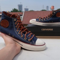 Sepatu Sneakers - Converse All Star Hi Navy - PRM