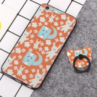 CASE CASING HP OPPO NEO 9 A37 KOREAN JINGYY + IRING SOFT SILICON BACK