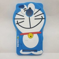 CASE CASING HP DORAEMON XIAOMI REDMI 3X SOFT SILIKON COVER 3D SERIES