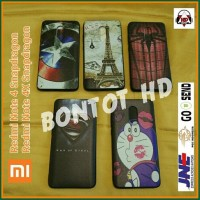 CASE HP CASING XIAOMI REDMI NOTE 4 4X PRO SNAPDRAGON MOTIF GAMBAR SOFT