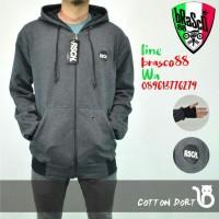jaket sweater cowo - jaket premium- jaket distro-rsch abu tua