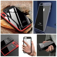 ACRYLIC auto focus CASE TRANSPARAN FOR XIAOMI/IPHONE/OPPO/VIVO/SAMSUNG