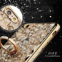 CASING CASE HP SAMSUNG GALAXY J7 CORE LOVE FLOWER LIST DIAMOND BUNGA