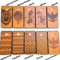 CASE HP CASING VIVO Y55 Y55L Y55S HARD SOFT COVER MOTIF KAYU WOOD