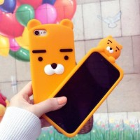 CASING CASE HP VIVO V5 PLUS V5+ SERIES 3D BABY KAKAO LION