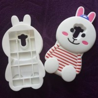 CASING CASE HP XIAOMI REDMI 4 PRIME SILIKON 3D SERIES BONEKA GIRL