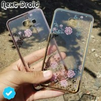 CASE HP CASING BUNGA METAL SAMSUNG J5 PRIME ON5 2016 BUMPER FLOWERS