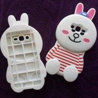 CASE HP CASING SAMSUNG GALAXY GRAND PRIME SILIKON 3D SERIES BONEKA